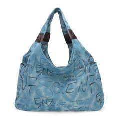 Casual Women Canvas Shoulder Bag Handbag