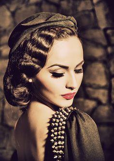 my new #girlcrush idda van munster and that #vintagebeauty