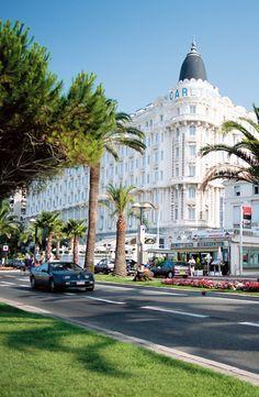 Hôtel Carlton de Cannes.