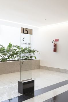 Platinum Tower /STUDIOMDA Wayfinding Design