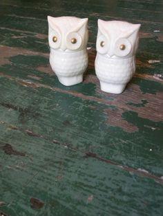 Vintage Avon Owl Cologne Bottles by VintiqueVillage on Etsy, $16.50