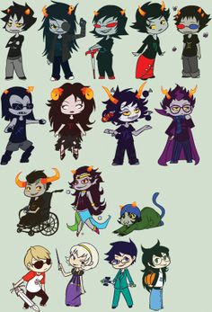 Homestuck chibis are the best type of chibis