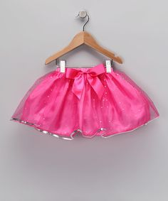 Take a look at this Bright Pink Sequin Tutu by Princess Expressions on #zulily today!