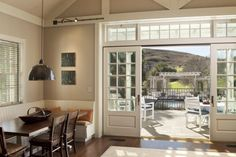 sliding french doors Patio Traditional with deck furniture flowers outdoor Sliding French Doors, French Doors Patio, Sliding Patio Doors, Sliding Glass Door, Entry Doors, Double Doors, Glass Doors, Sliding Wall, Front Doors