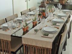 Resultado de imagem para mesas de jantar decoracao