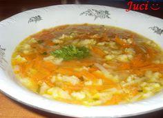 Könnyű a főzés, ha van miből!: Reszelt leves Supe, Soup Recipes, Chicken, Meat, Food, Hoods, Meals, Kai
