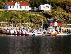 #fishing #boats at #Stø in the #Vesterålen,  #northern #Norway #nord-norge #visitnorway