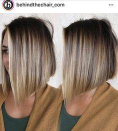 50 New Short Hairstyles for Women 2018 – 2019 : Blonde Balayage Hair – Frauen Haare Blonde Balayage Bob, Brown Blonde Hair, Balyage Bob, Bronde Bob, Short Balayage, Grey Hair, Medium Hair Styles, Short Hair Styles, Blonde Bob Hairstyles