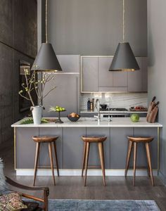 Home-Styling   Ana Antunes: Gray and gold * Cinza e Dourado