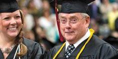Meet 70-year-old May '13 graduate Bob Warnke: