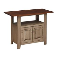 Amish Pine 48 Kitchen Island 421 Liked On Polyvore Featuring Home