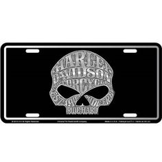 harley-davidson b&s camo- license plate | motorcycle & car