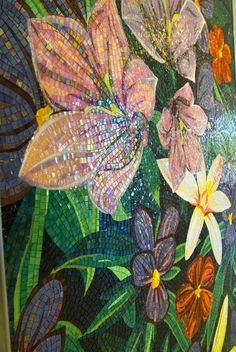 flower mosaic  #design #mosaic