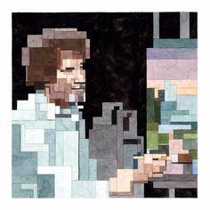 Bob Ross (PRINT) – Adam Lister Gallery