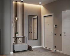 home decor ideas hallway Design Hall, Hall Interior Design, Flur Design, Contemporary Interior Design, Interior Design Living Room, Interior Architecture, Room Partition Designs, Hallway Designs, Small Apartment Design
