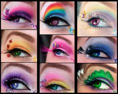 maquillajes carnaval