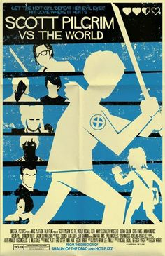 ALTERNATIVE SCOTT PILGRIM POSTERS  Fan-made art vs the world