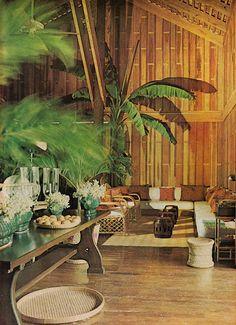 Oscar de la Renta-Casa de Campo, Domican Republic. Vogue 1974, photo by Horst