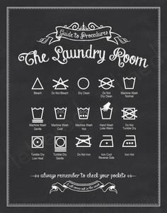 Knowing your laundry signs