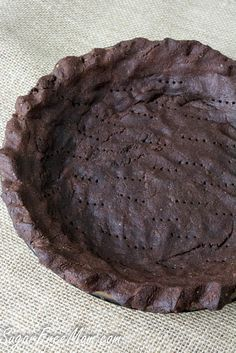 chocolate grain free crust- low carb, gluten free