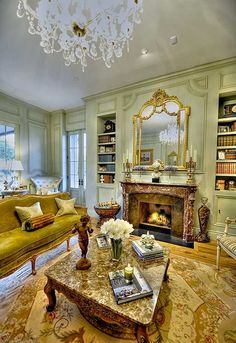 Fireplace Paneling Interior Design Ideas relating to french interiors - Home Bunch