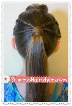Back to school edgy ponytail #hairstyle tutorial