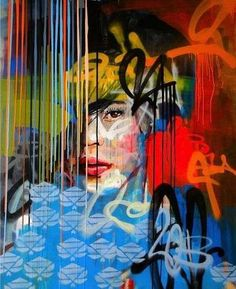 Image result for graffiti a classic painting