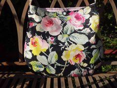"""Einkaufstaschen - TASCHE """" floral collection~ No.9"""" große ROSEN - ein…"""
