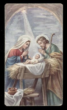 "santino-holy card""""ediz. FB serie SAV n.30 NATIVITA'"