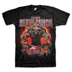 Five Finger Death Punch Got Your Six T-Shirt