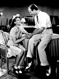 Rita Hayworth, Fred Astaire - in ''You were Never Lovelier'' 1942