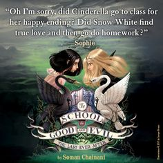 Sophie's quote – School for Good and Evil.