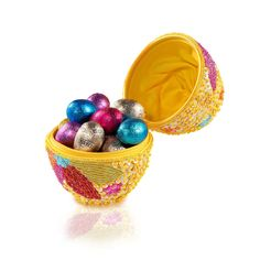 Godiva Easter Beaded Egg with 15 Little Filled Eggs - Delivery in France by GiftsForEurope