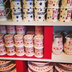 Emma Bridgewater Obsessed #emmabridgewater #mugs #plates #hearts #love #obsessed #collection #Bicester
