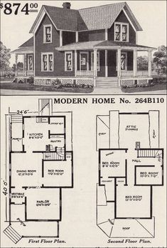 Vintage Farmhouse Plans colorkeed home plans-radford-1920s | vintage house plans~1920s