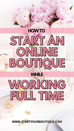 Small Business Plan, Business Planning, Business Ideas, Starting An Online Boutique, Selling Online, Start Online Business, Earn Extra Cash, Own Website, Quitting Your Job