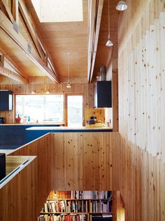 """Knotty by Nature""- Dwell  Per Bornstein house, Gothenburg  Photographer: Pia Ulin"
