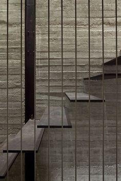 factory house - jaffa - pitsou kedem - 2013 - int stair detail - photo amit geron