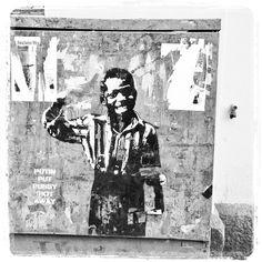 #pussyriot #stencil #katutaidetta #Helsinki 04/16 #katutaide #streetart #urbanart #puzzle