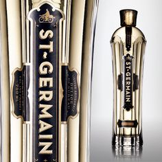 St-Germain Elderflower Liqueur | Liquor.com - I'm in love with this stuff and the bottle is just as amazing!