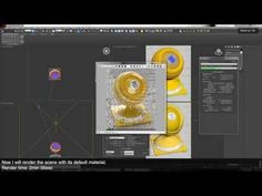 Creating VRay Materials - PART 1 of 2 (3Ds Max) [1440p] - YouTube Vray Tutorials, 3ds Max Tutorials, V Ray Materials, 3d Studio, 3d Tutorial, Blender 3d, 3d Max, 3d Design, Create