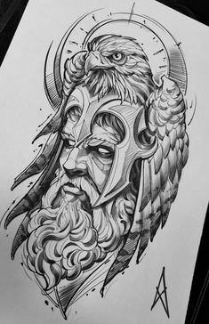 Zeus Tattoo, Poseidon Tattoo, Norse Tattoo, Viking Tattoos, Thai Tattoo, Maori Tattoos, Polynesian Tattoos, Tribal Tattoos, Native Tattoos