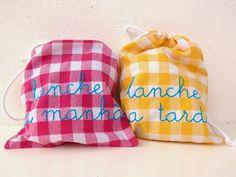 do guincho: SNACK BAGS . SACOS DE LANCHE