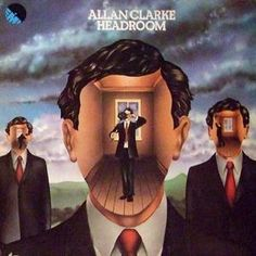 Allan Clarke - Headroom (EMI, 1973).  Cover by Hipgnosis.