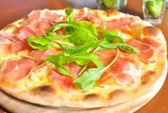 Grilled pizza - Grillattu parmankinkkupizza