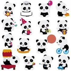 Pandas FOFOS!!!!❤️✌#kawaii #panda