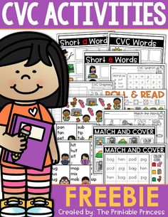 CVC words are kind of a big deal in Kindergarten. Once students master letter sounds the next step is blending to make words. As Kindergarten teachers, we need to provide our students with practice and repeated exposure through activities, games, centers,
