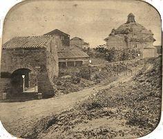 Foto storiche di Roma - Abbazia delle Tre fontane Anno: 1865 ca