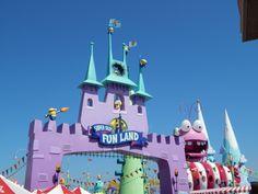"""""""Super Silly Fun Land"""" la nuevas zona de juegos interactiva #MinionRide"""