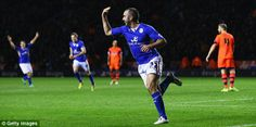 Taylor-made: Gary Taylor-Fletcher celebrates after scoring Leicester's fifth goal  Read more: http://www.dailymail.co.uk/sport/football/article-2530693/Leicester-5-Bolton-3-Match-report.html#ixzz2oy96aLh8  Follow us: @MailOnline on Twitter | DailyMail on Facebook